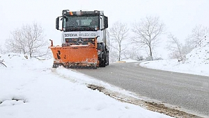 Serdivan Belediyesi Kar Nöbetinde