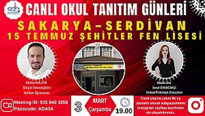 """ADAPAZARI MEM """"CANLI OKUL TANITIM GÜNLERİ"""" DEVAM EDİYOR"""