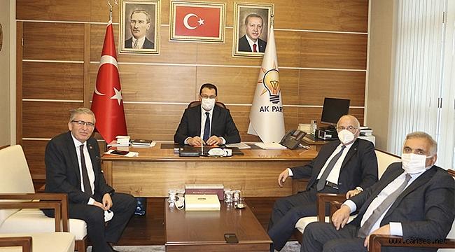 Ali İhsan Yavuz ve Yaşar Zımba dan 76 kulübe Müjde