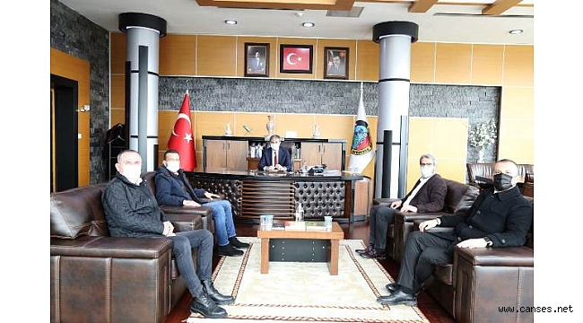 Başkan Alemdar'a Ziyaret
