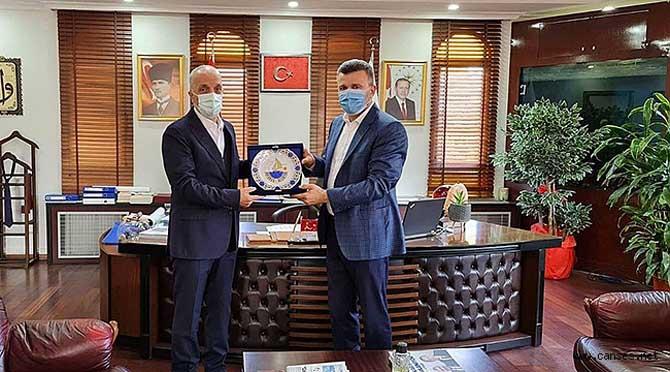 Başkan Atalay'dan, Başkan Özen' Ziyaret