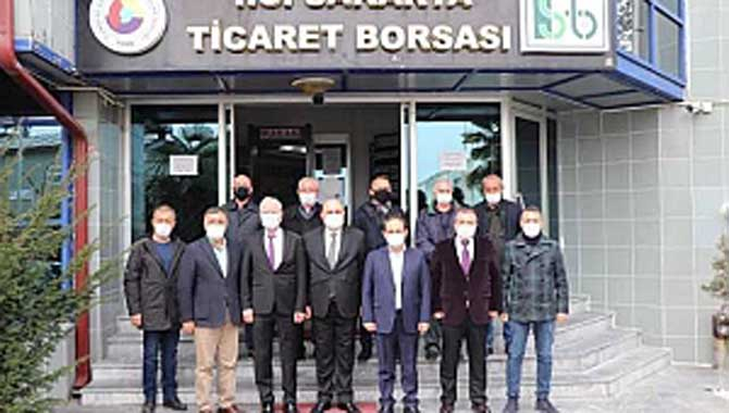 CHP, ARİFİYE'DE MUHTARLARI ZİYARET ETTİ