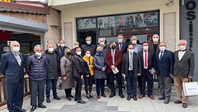CHP'DEN SAPANCADA ESNAF ZİYARETLERİ
