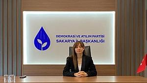 DEVA Partisi Sakarya İl Kadın Çalışmaları Başkanı Basın Açıklaması