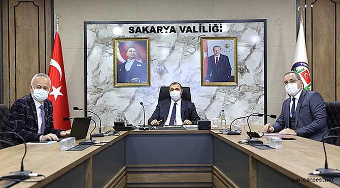 Vali Kaldırım'ın Başkanlığında COVID-19 Toplantısı Gerçekleştirildi