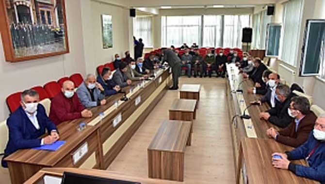 Arsalara Ait m2 Birim Değer Takdir Komisyonu Toplandı.