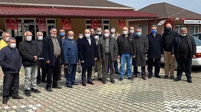 Boğazköy, Kışlaçay ve Doğançay köylerini ziyaret
