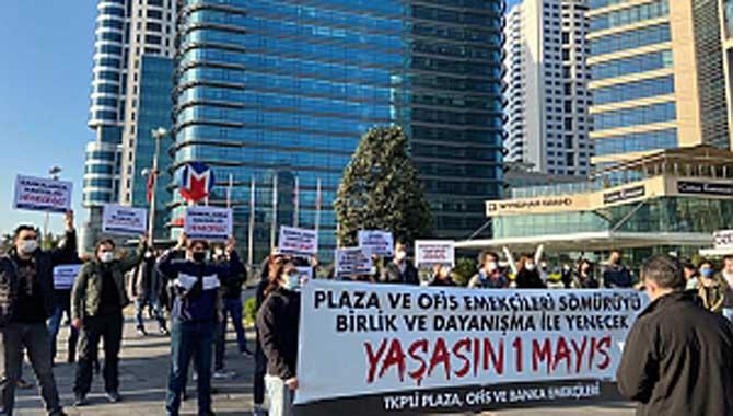 Emekçiler İstanbul'da üç noktada buluştu