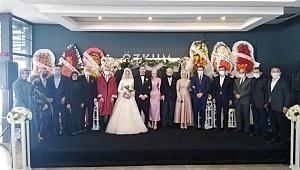 Hasan İlter oğlunu evlendirdi