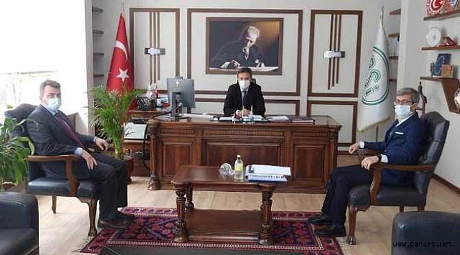 """""""Karasu Kanal Projesi İçin Detaylar Görüşüldü"""""""