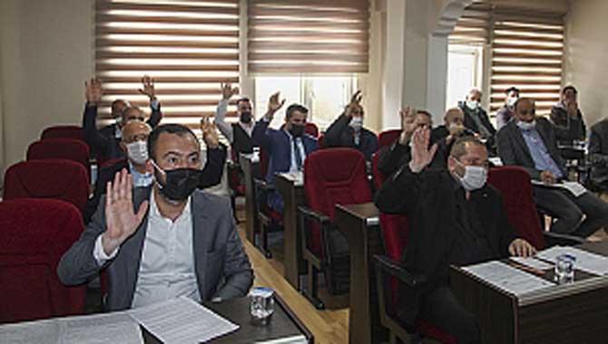 Toplantıda 13 gündem maddesi karara bağlandı