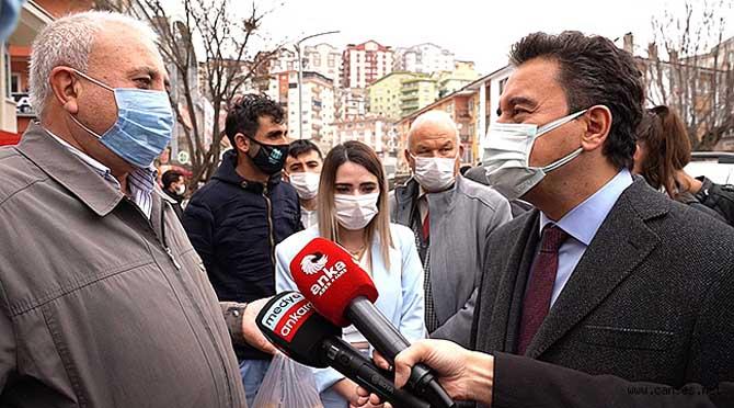 VATANDAŞ ALİ BABACAN'A DERT YANDI