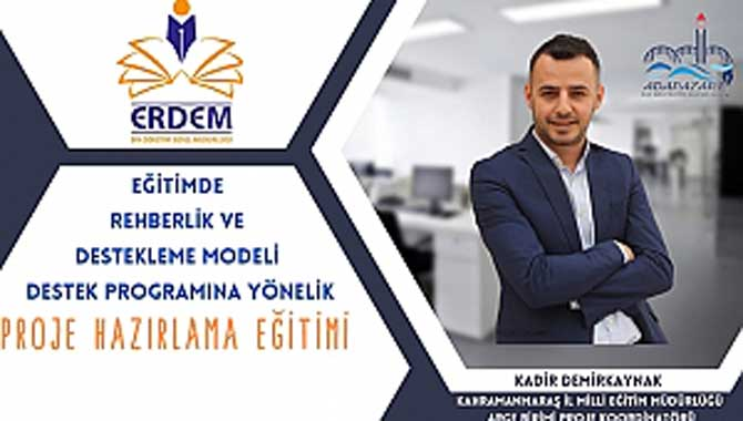 """ADAPAZARI İLÇE MEM """"ERDEM PROJESİ TANITIMI"""" YAPILDI"""
