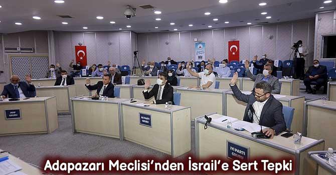 Adapazarı Meclisi'nden İsrail'e Sert Tepki