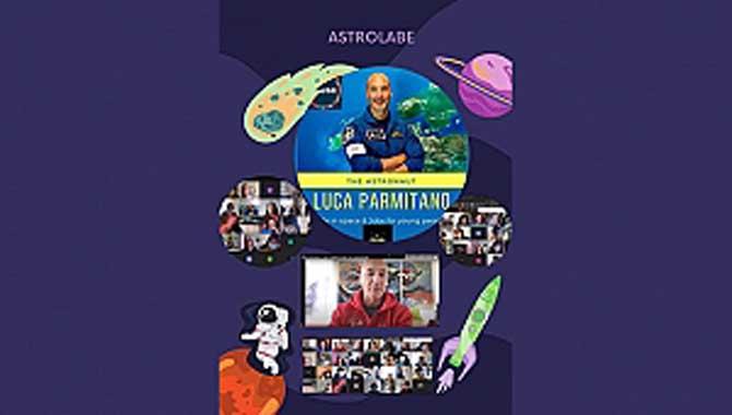 Aykut Yiğit Ortaokulu Bir İlke İmza Attı: Astronot ile Buluşma