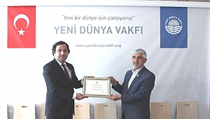 Başarılı İşadamı Şahin Karaaslan; YDV Başkanı oldu