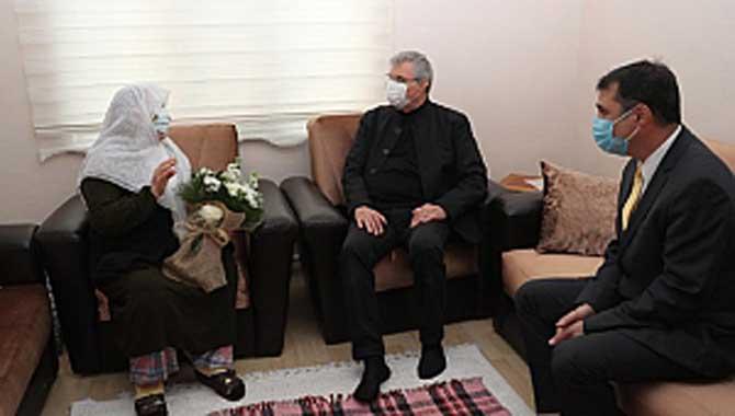 Başkan Yüce'den Anneler Gününde Anlamlı Ziyaretler