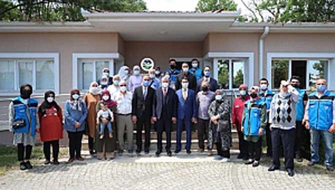 Başkan Yüce, Sağlık İçin Kaplıca Projesi Kapsamında 12. Kafileyi Uğurladı