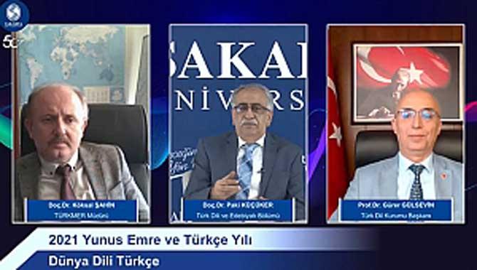 """Dünya Dili Türkçe"" Konferansı Düzenlendi"