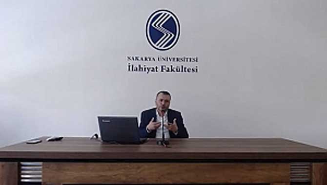 İlahiyat Fakültesi'nde online seminer gerçekleştirildi
