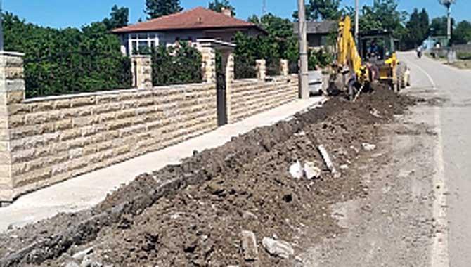 Karasu Kurumeşe mahallesine yeni içmesuyu şebekesi