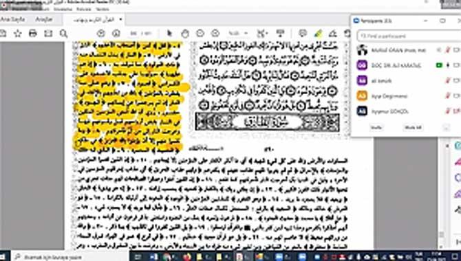 Öğretmenlere Yönelik Arapça Metin Okuma Kursları Tamamlandı
