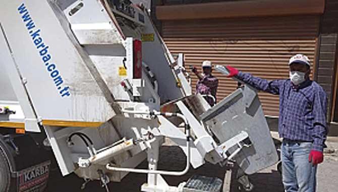 Taraklı Belediyesi'ne Çöp Toplama Kamyonu