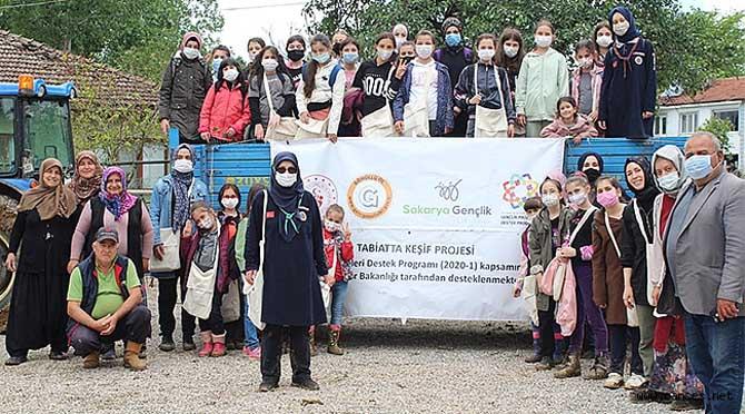 Taşkısığı Ortaokulu 'Tabiatta Keşif' projesinin misafiri