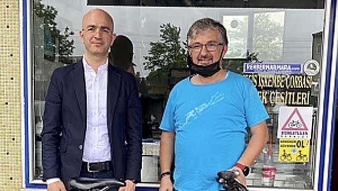 Bisiklette bir ulaşım aracı olarak görülmeli ve trafikte saygı duyulmalı