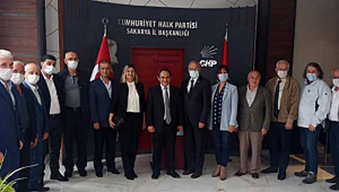 CHP Sakarya İl Başkanlığına, Sakarya STK Platformu'ndan Anlamlı Ziyaret
