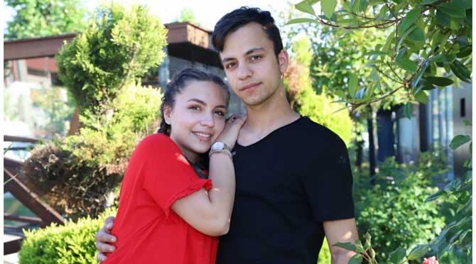Eşine sürprizi Payidar'da yaptı