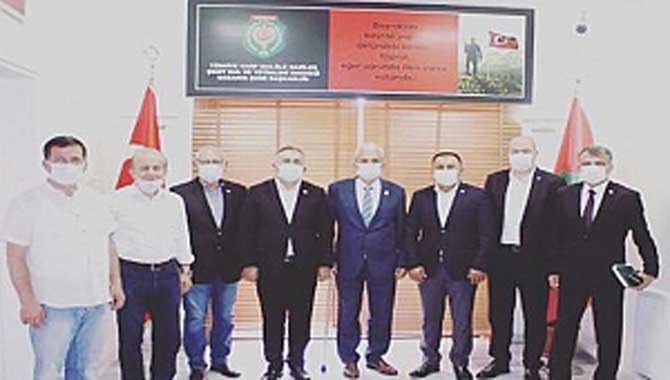 İYİ Parti Adapazarı İlçe Başkanlığı Şehit ve Gaziler Derneğinde
