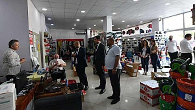 İYİ Parti İl Başkanı ve Serdivan İlçe Başkanı Çark sanayi esnafını ziyaret etti