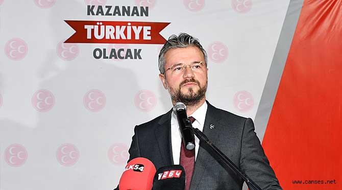 MHP'li Akar'dan CHP'li Keleş'e tepki.