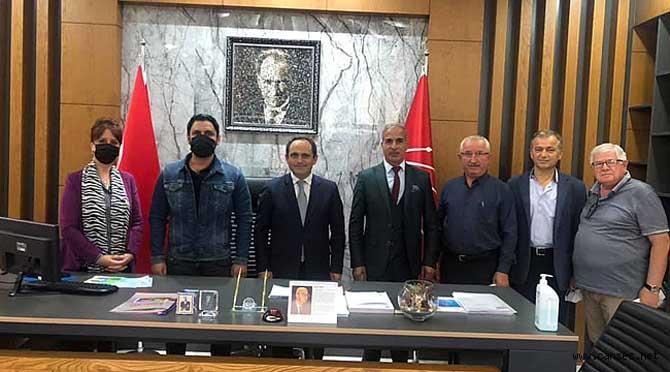 Romanlar Derneği'nden CHP Sakarya İl Başkanlığına Ziyaret