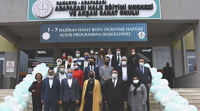 Sakarya'da Hayat Boyu Öğrenme Haftası Açılış Programı