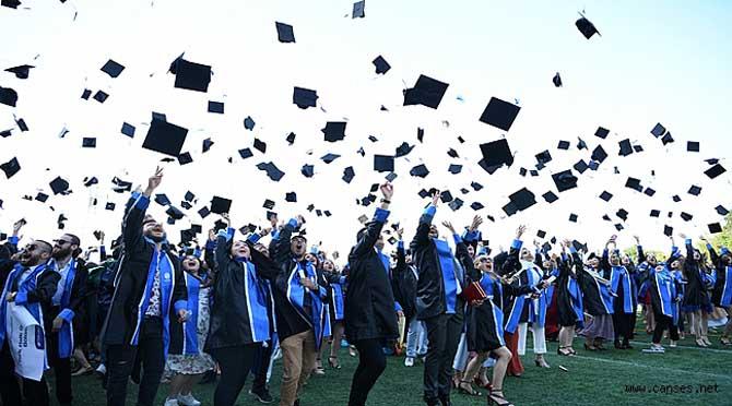 Sakarya Üniversitesinden İlk Yüz Yüze Mezuniyet