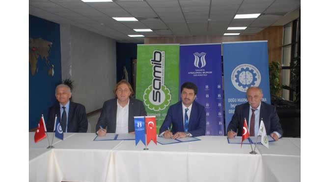 SAMİB, DOMİOSB, SAÜ ve SUBÜ işbirliğinde protokol imzalandı