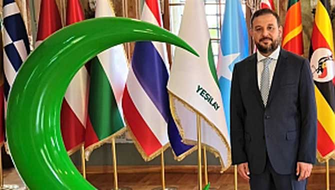 Yeşilay Genel Merkez Yönetim Kurulu'nda Sakarya'dan bir isim yer aldı!
