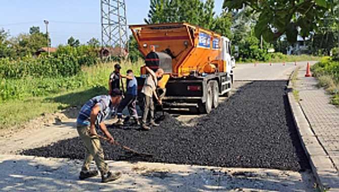 Büyükşehir Pireahmetler Mahallesi'nde güvenli ulaşım için çalışmalar tamamlandı