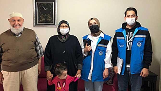 Büyükşehir şehit ve gazi ailelerinin kapısını çaldı