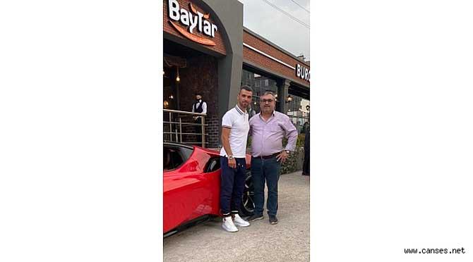 Chef Baytar; şampiyon Sofuoğlu'nu Serdivan Şube'de ağırladı
