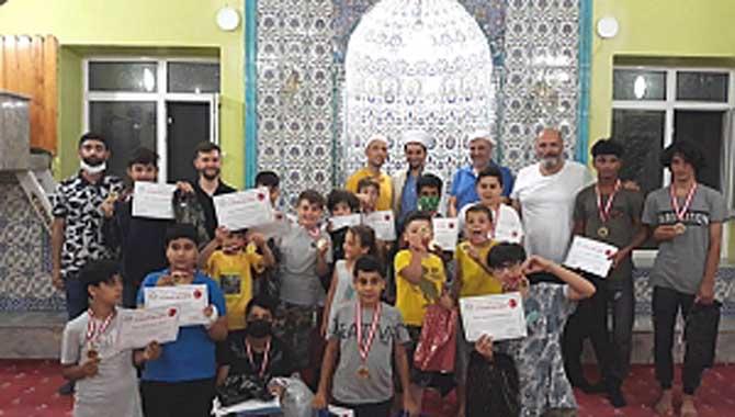 'Çocuklar! Camide Buluşuyoruz Etkinliği Namaz Yarışması' Ödül Programı