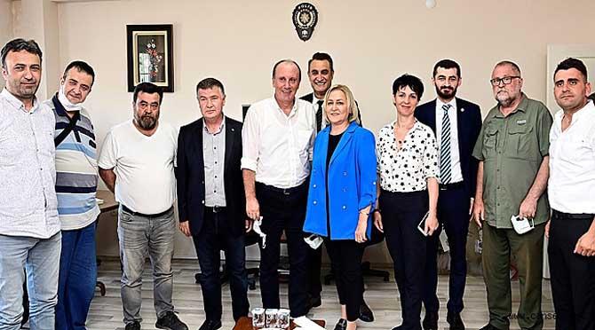 MUHARREM İNCE'DEN SGC'YE ZİYARET