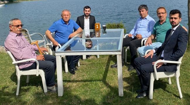 Şampiyon Berkay ÇELİK; Milletvekili Yıldırım KAYA'yı Sapanca'da ağırladı