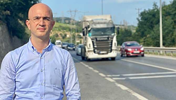 Serbes: Aşağıdereköy ve Yukarıdereköy'ün D-100 çığlığı duyulmalı üst geçit ve yan yol talebi karşılanmalı