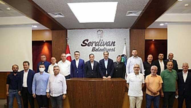 Genel Başkan Yardımcısı Ahmet Zenbilci Serdivan Teşkilatıyla Buluştu