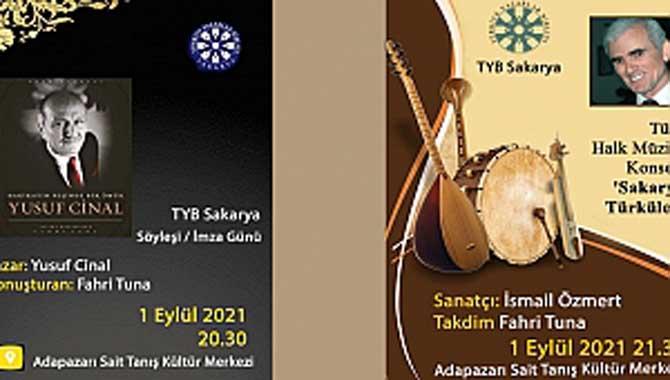 TYB Sakarya'dan 2 Program