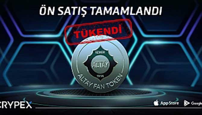23 Milyon TL'lik Altay Fan Token kısa sürede tükendi!