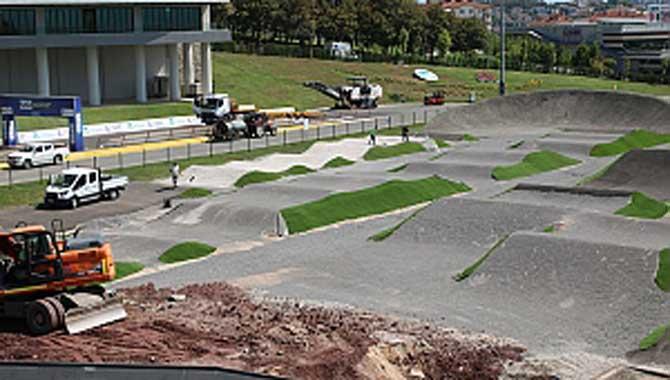 Bisiklet Vadisi'nde BMX Dünya Şampiyonası için son hazırlıklar